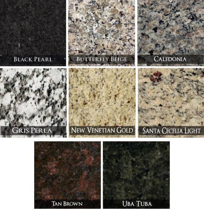 Savvy Granite Colors